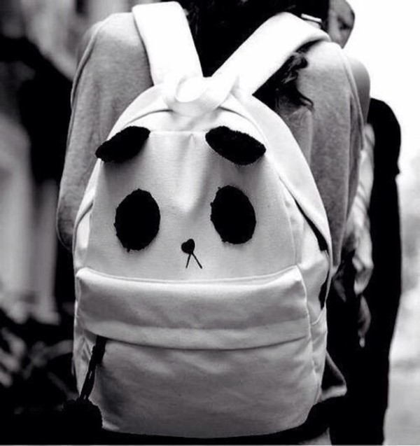 bag panda backpack