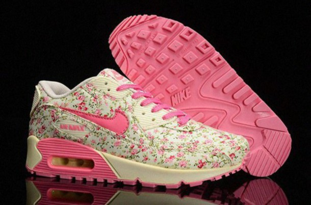 shoes flowers air max