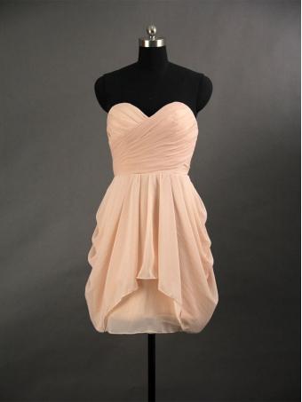 2013 Simple Chiffon Short Prom Dress/Graduation Dress [E0025] - $129.99 : 24inshop