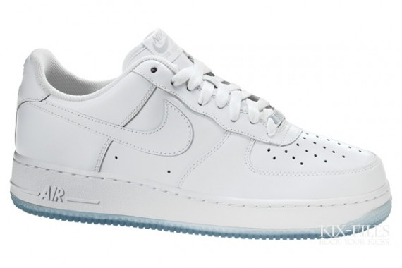 Nike Air Force 1 - Ice - White / White / Neutral Grey | KicksOnFire.com