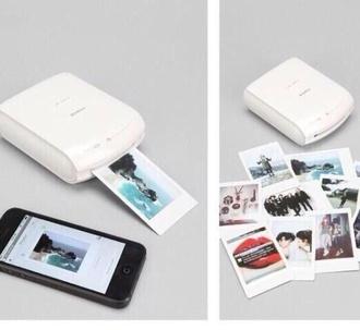 instant smartphone printer polaroid camera fuji film instax technology home accessory