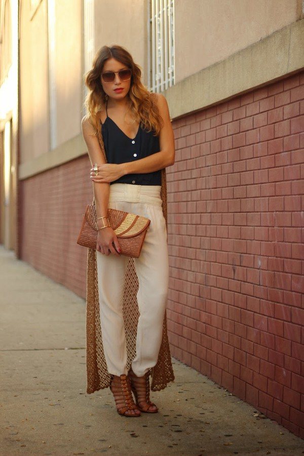the marcy stop tank top pants jacket jewels bag shoes