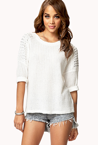 Studded Chunky Sweater | FOREVER 21 - 2000050224