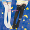 Screaming! sailor moon luna/ artemis kitten with tail on back legging tights sp141305 on storenvy