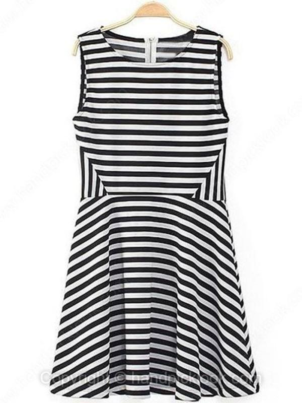 dress striped dress striped dress nautical dress cocktail dress summer dress little black dress