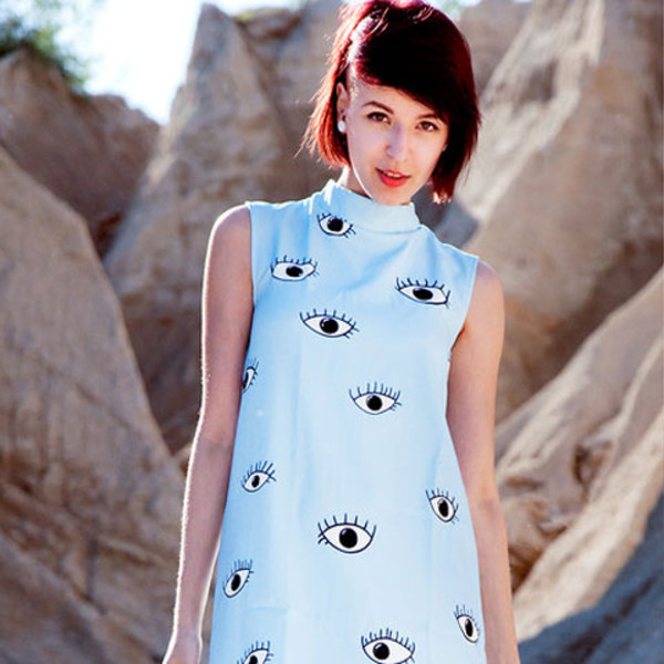 eyes dress blogger style short dress short dress dress