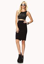 Knit Pencil Skirt | FOREVER21 - 2000074889