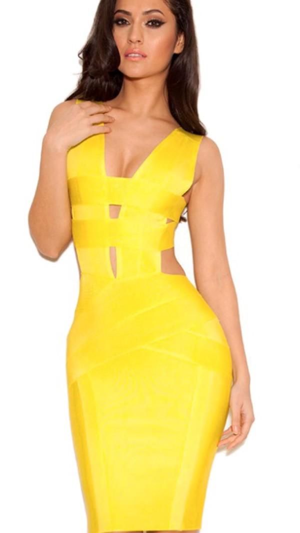dress bandage dress bodycon dress