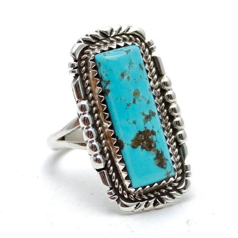 Clear Sky Turquoise Native American Ring | Child of Wild