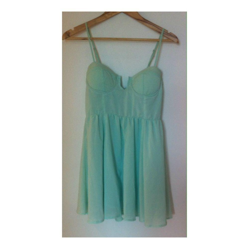 Showpony Mint Green Dress Size 8   eBay
