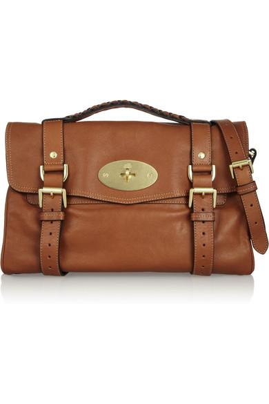 Mulberry|The Alexa leather satchel|NET-A-PORTER.COM