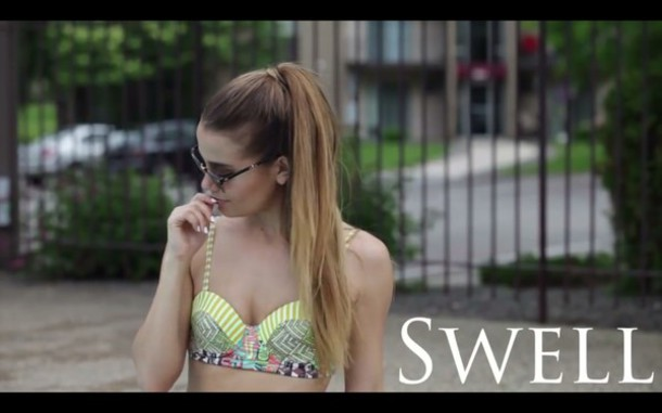 swimwear swell suimsuit top tess christine