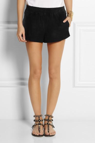 Kate Moss for Topshop|Suede shorts|NET-A-PORTER.COM