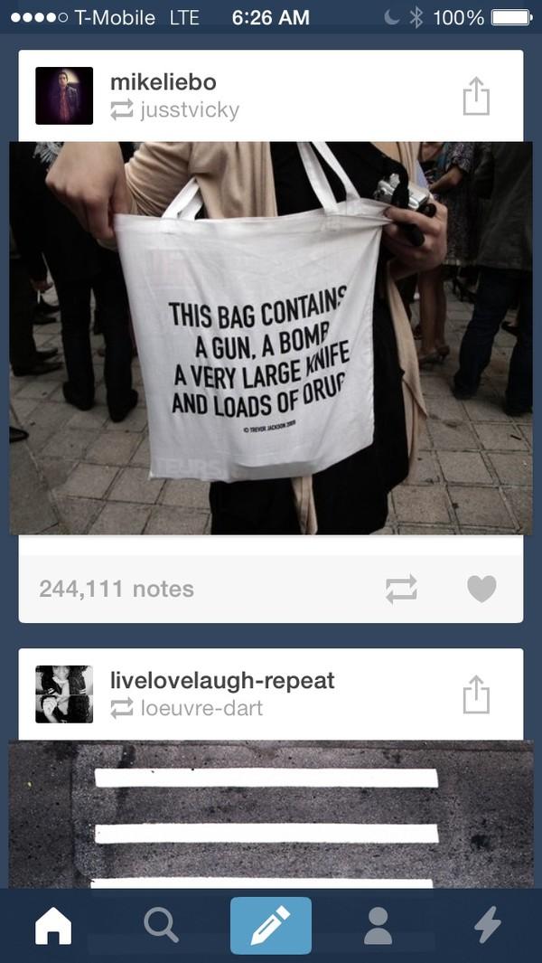 bag tumblr purse this bag contains