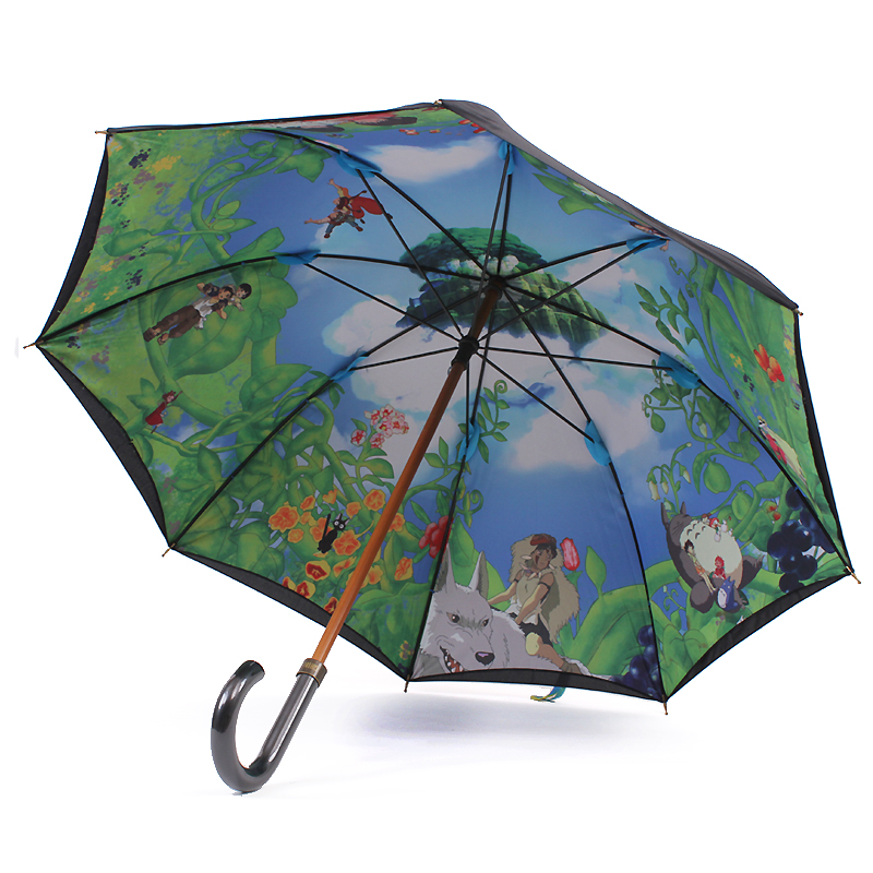 Ghibli Hayao Miyazaki's latest masterpiece caused by various youth of our childhood classic animation skillet sunny umbrella