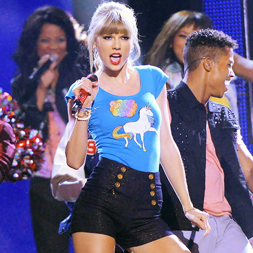 Style Hunter: Taylor Swift's 'Haters Gonna Hate' unicorn T-shirt | PopStyle | EW.com