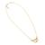Mini Gold Handcuff Necklace | Jessica de Lotz Jewellery