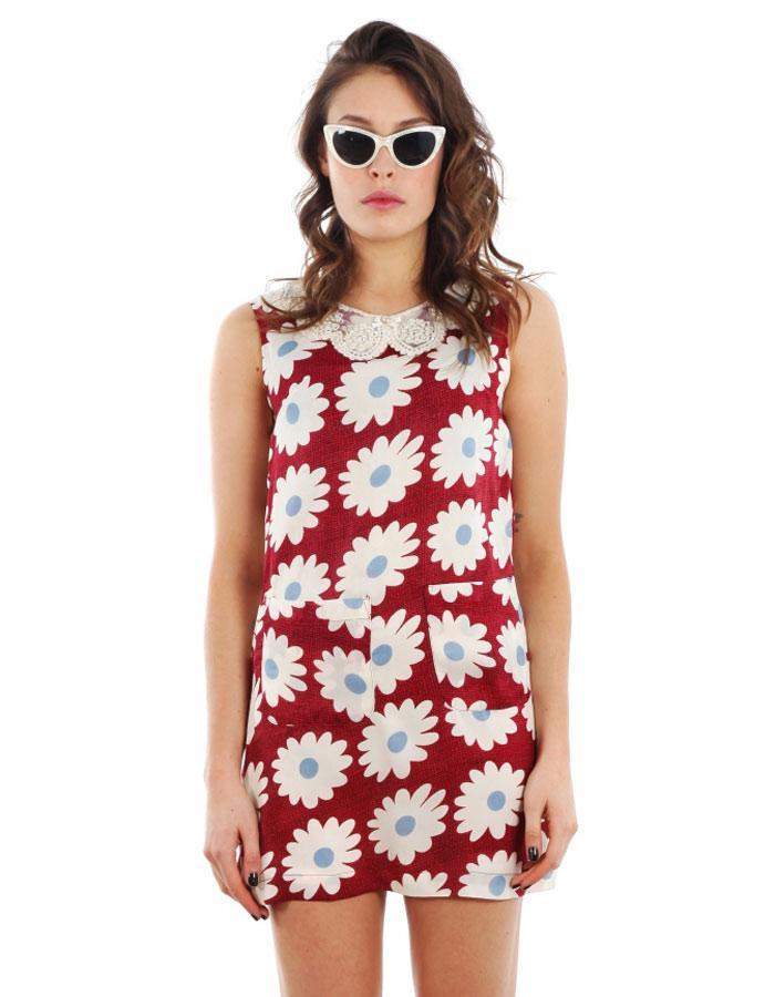 RED RETRO DRESS