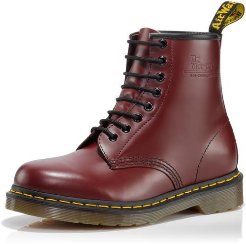 New Dr Doc Martens Cherry Red 1460 Boots UK 5 US 7 | eBay