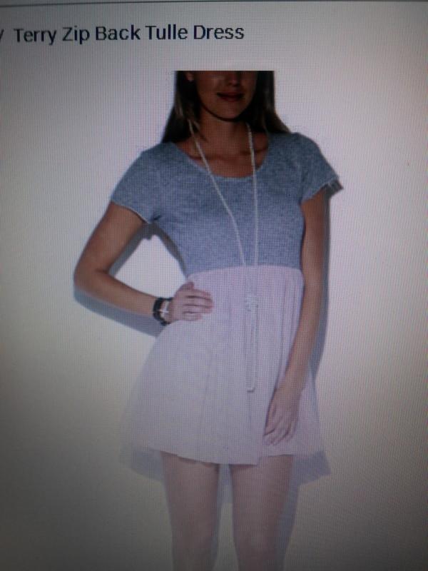 dress mini tulle skirt pink grey