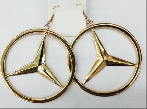 Benz Earrings | Raggedy Endz