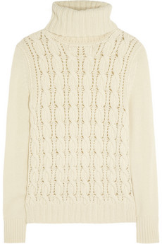 Iris & Ink Wool and cashmere-blend turtleneck sweater - Exclusively for THE OUTNET