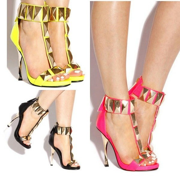 shoes neon yellow