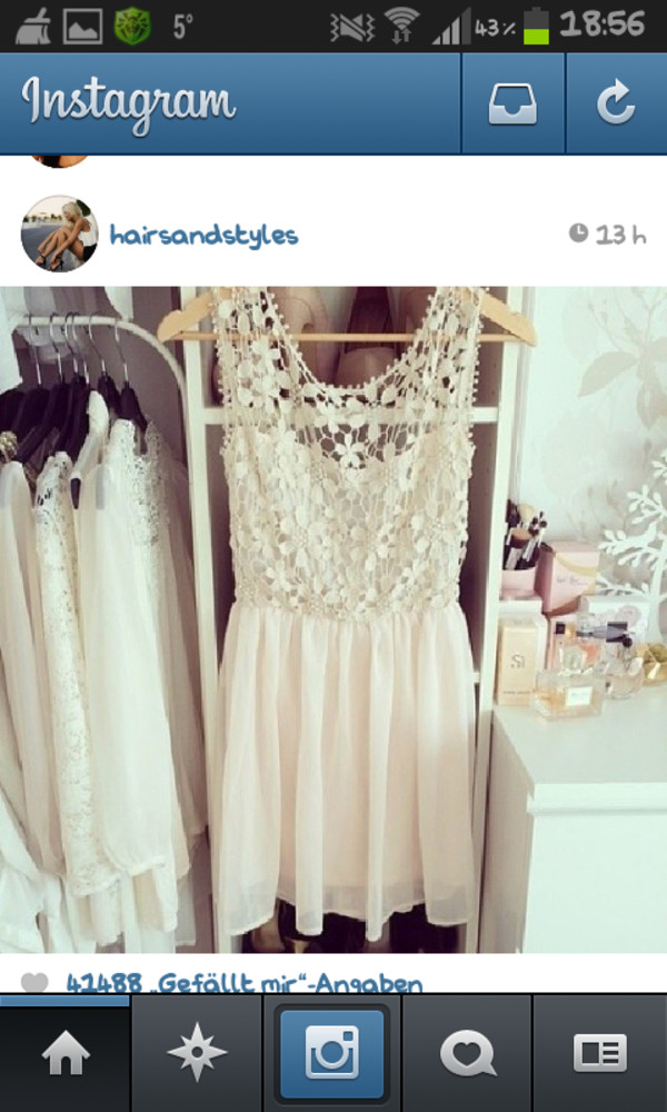 dress white dress flowers cute dress pretty soo nice