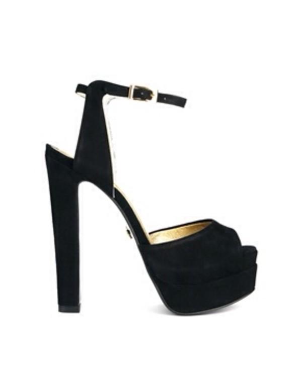 shorts black  high heels high heel sandals