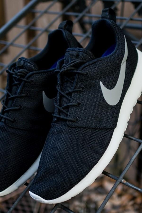 nike black sneakers low top sneakers shoes