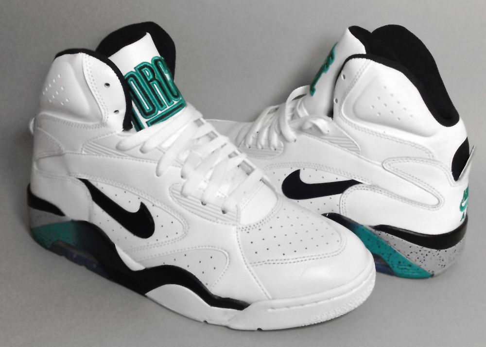 Nike Air Force 180 Mid David Robinson Shoes New in Box Retro 537330 100 DS | eBay