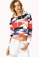 Fresh Cropped Hoodie | FOREVER21 - 2000066259