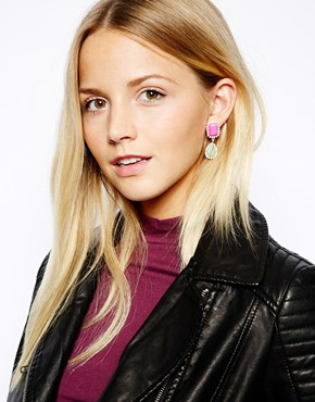 Johnny Loves Rosie | Johnny Loves Rosie Two Piece Drop Earring at ASOS