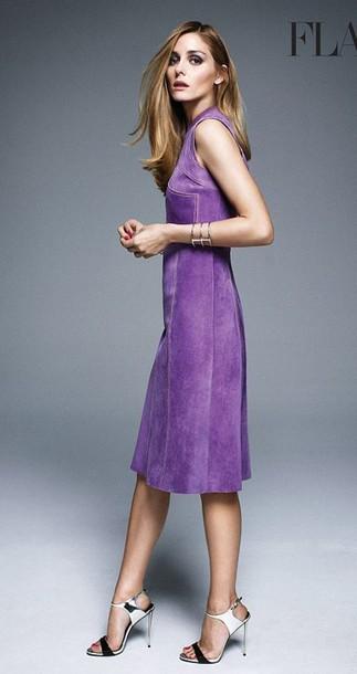 olivia palermo sandals purple dress dress shoes