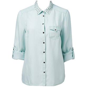 shirt stud collar
