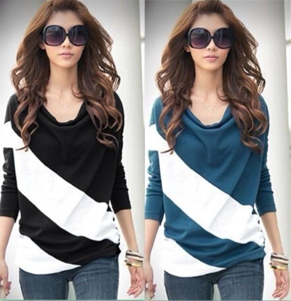 shirt and sunglasses