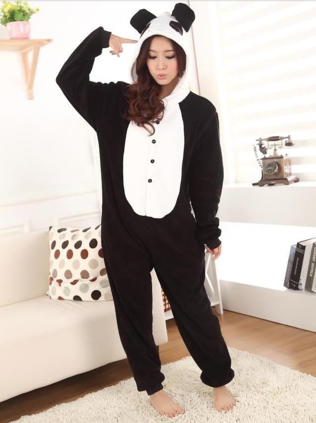 JP Anime Kigurumi Pajamas Panda Cosplay Costume Pyjamas Hoodies Helloween Party Dress-in Costumes from Apparel & Accessories on Aliexpress.com
