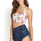 Floral rush crop top | forever21 - 2000107758