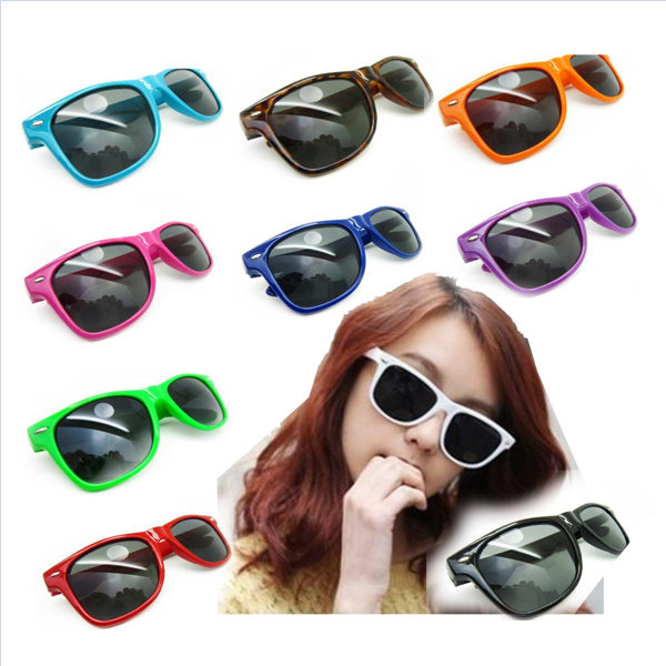 Free Shipping New Girls Designer Semi Rimless Super Round Fashion Retro Sunglasses 10 Color Wholesale-in Sunglasses from Apparel & Accessories on Aliexpress.com