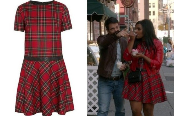 dress the mindy project tartan assassin's creed cosplay costumes mindy kaling