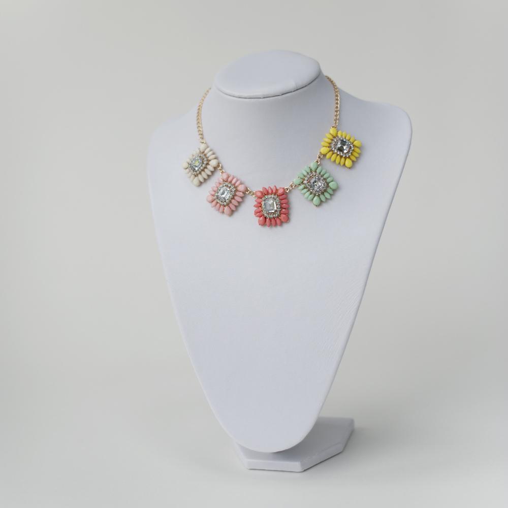 Multi-Coloured Pastel Necklace | Adorning Ava
