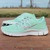 Customized NikeiD Free 5.0 w/ Swarovski Rhinestones - Mint Green / Glitterfix