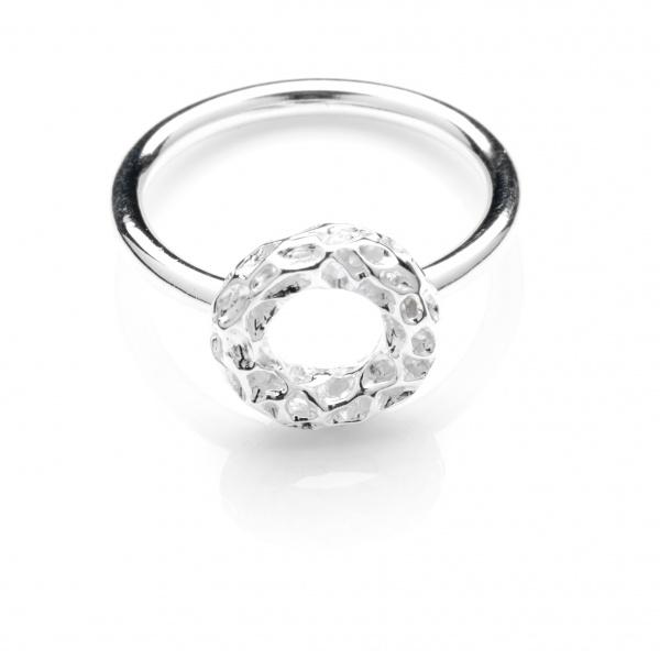 Mini Allegro Band Silver Ring | Allegro | memento-jewellery | Rachel Galley Jewellery Design