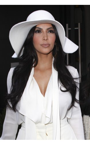 Socialite White Floppy Hat -  from The Fashion Bible  UK