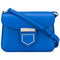 Givenchy 'nobile' cross body bag, women's, blue, calf leather