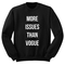 More issues than vogue sweatshirt - stylecotton