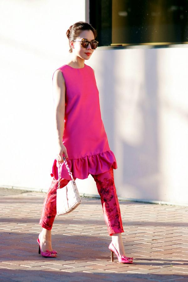 hallie daily dress pants shoes bag sunglasses jewels