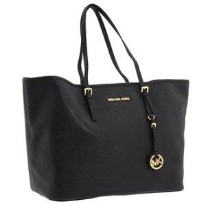 MICHAEL Michael Kors Saffiano Medium Travel - Tote Bag - Sale