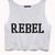 Rebel Girl Cropped Tank | FOREVER 21 - 2000074226