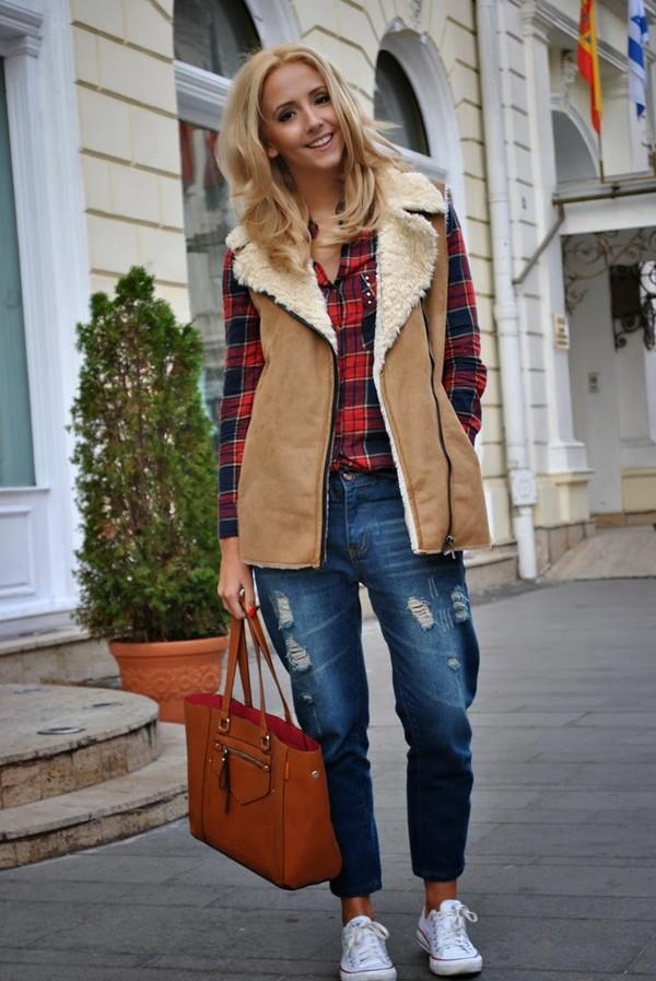 let's talk about fashion ! blouse jacket jeans shoes bag jewels
